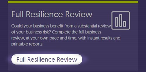 Screenshot showing the 'Full Resilience Review' button